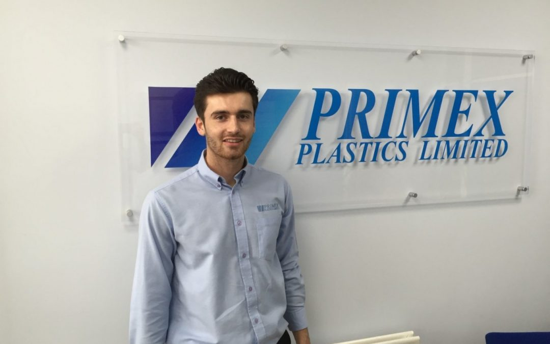 Apprentice Lewis joins growing plastics firm