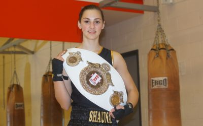 Student crowned national boxing champion