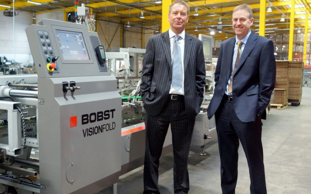 North East packaging company increases production thanks to package from Bobst