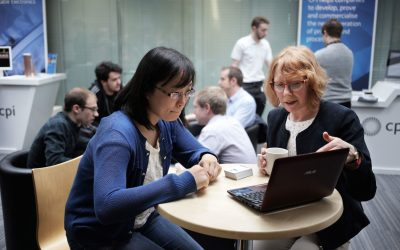 Students' speed networking heads off future brain dead
