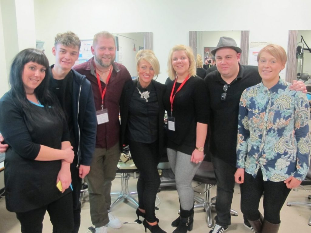 Barbering students learn history of the trade from the top institutions