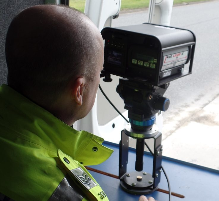 Speeding drivers beware the 'eye at night'