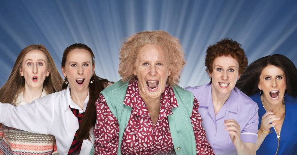Catherine Tate brings nan and co to North East