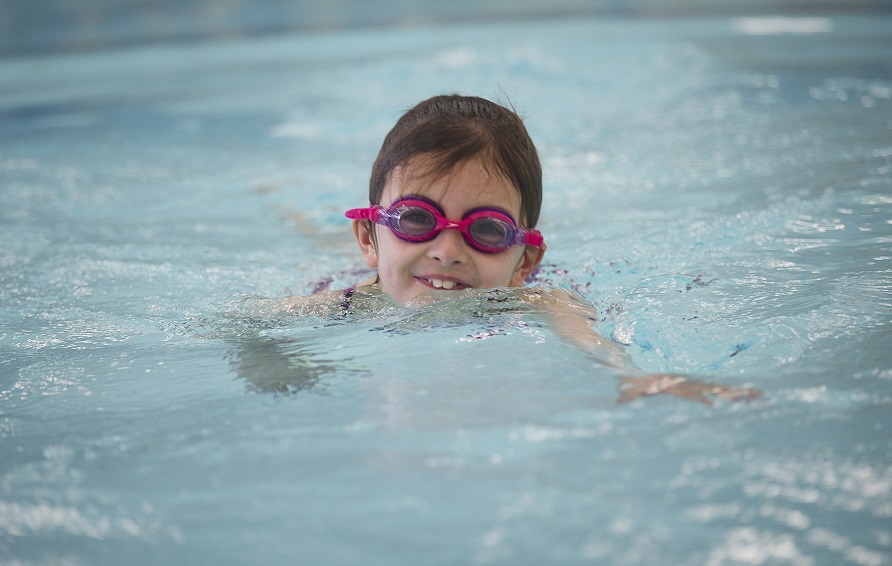 Competition winners make a splash with holiday swimming courses