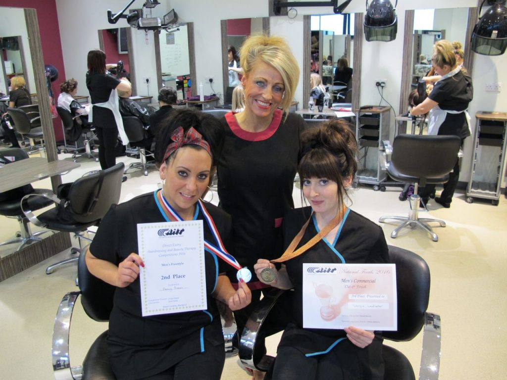 East Durham College Barbering Students