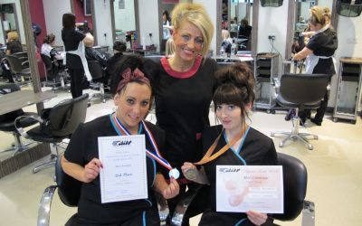 East Durham College barbering students win national medals