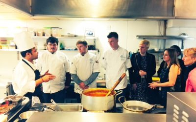 Continental Chef Supplies support catering students at future chefs launch 2016