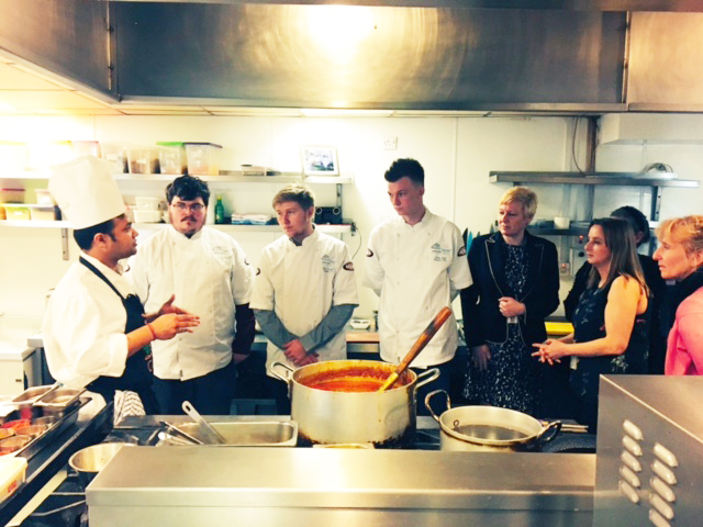 Students at Future Chefs Launch