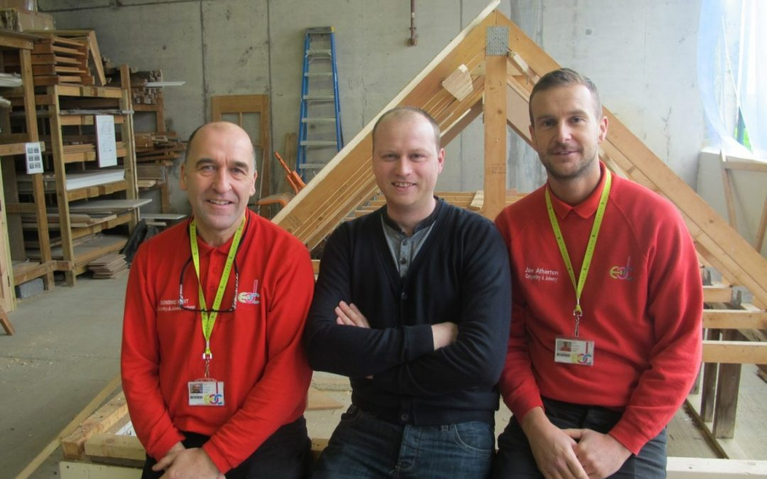 Former Joinery Student Returns To Motivate Next Generation