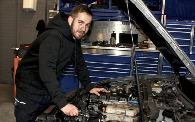 Apprentice Jamie has the driving force