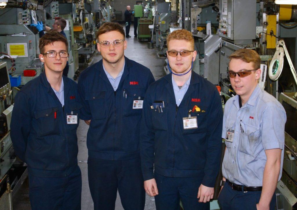 NSK apprentices