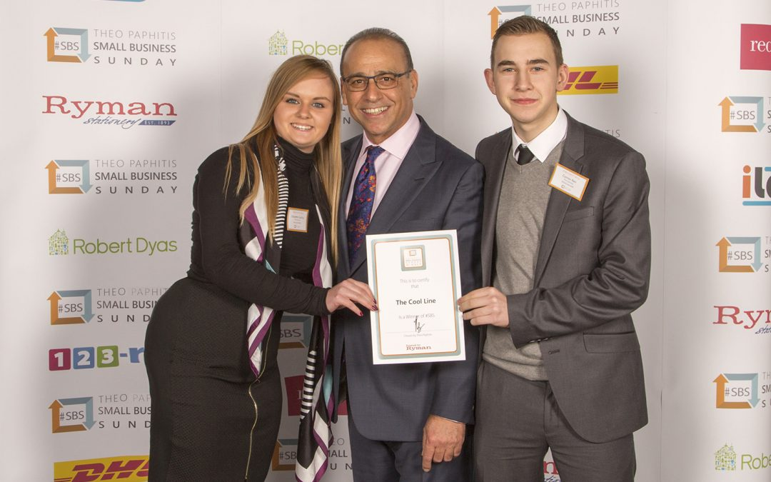 A 'cool' business idea wins top support for former textiles student