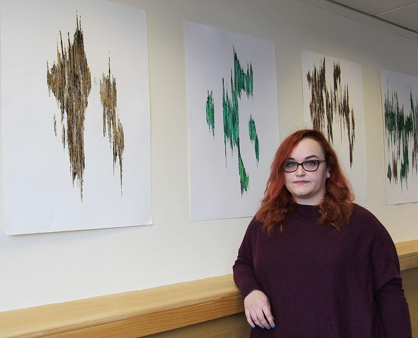 A fine exhibition showcases art students talent