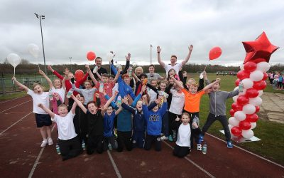 Swimmers, Spinners and Sprinters raise £700 for Sport Relief