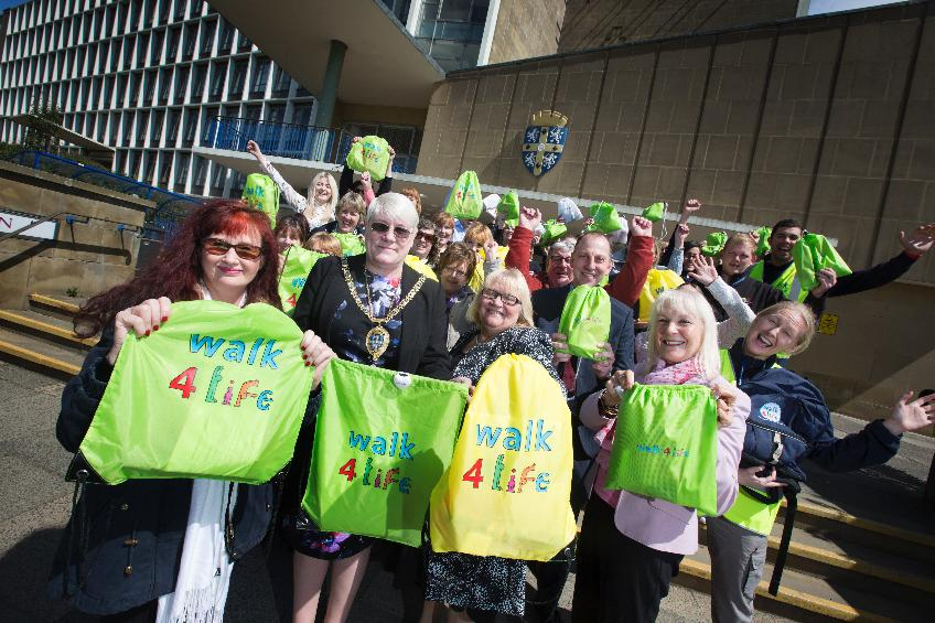 Walk4Life Walking month launch