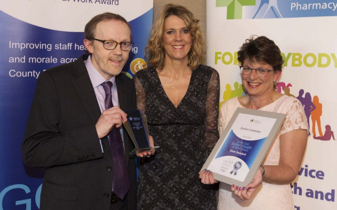 Healthy work ethic wins award for Durham Cathedral