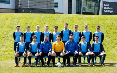Men's football league title heads to East Durham College