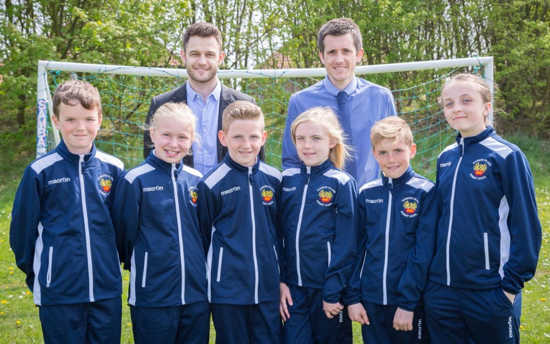 GAS sponsors school's drive to become national football champions