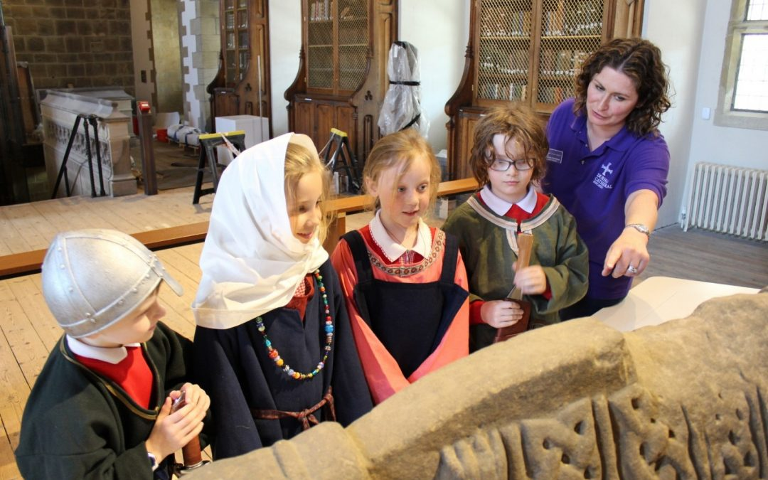 School gives Open Treasure a test run at Durham Cathedral