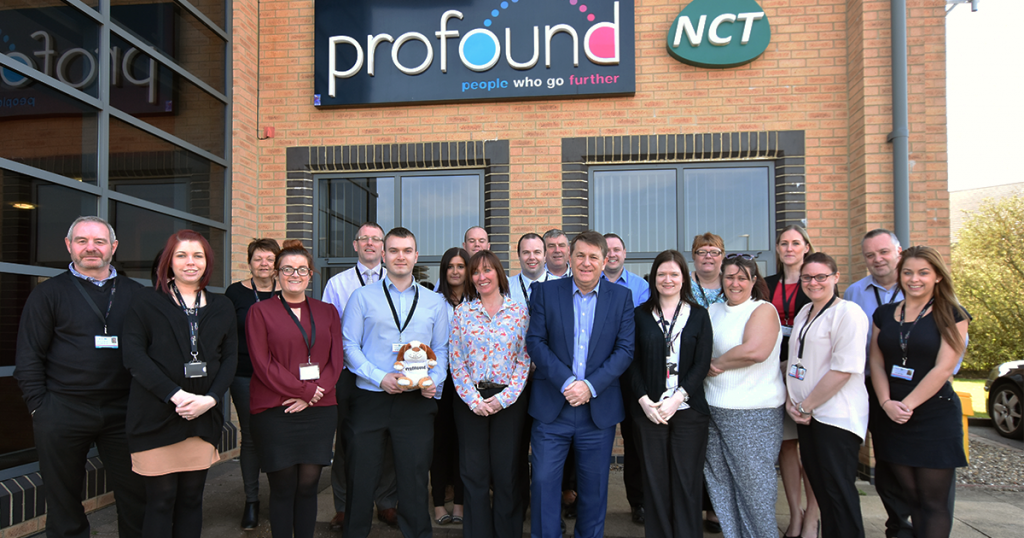 Profound Group and NCT Ltd employees including Profound Chair Steven Ward