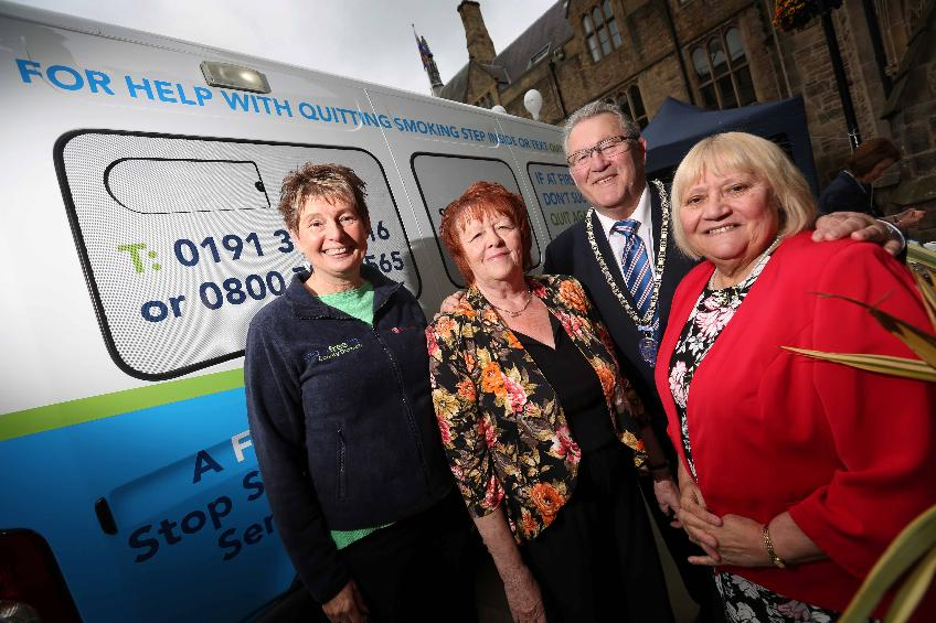 Mobile clinic launched to help people in County Durham stop smoking