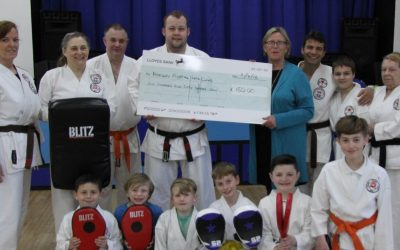Martial arts club invests with grant