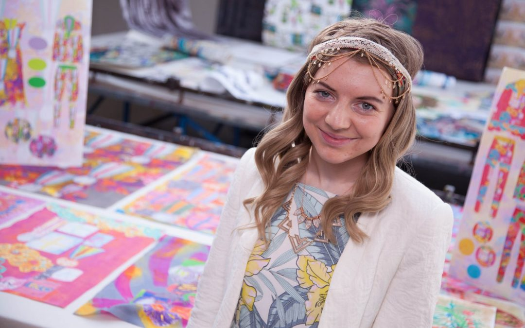 Talent takes the spotlight as art students showcase their designs at degree show opening night