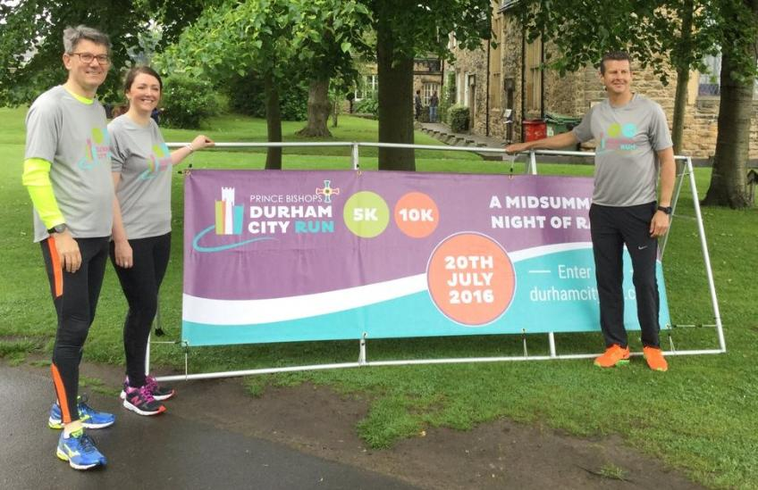 New Dean of Durham Cathedral takes on Durham City Run
