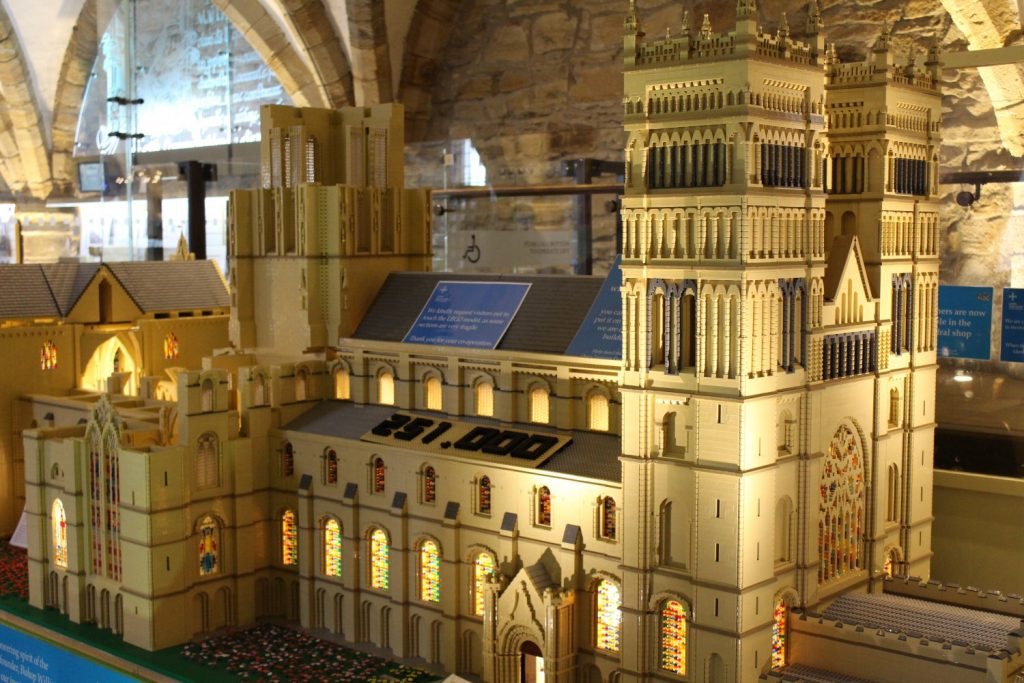 LEGO Scale Model of Durham Cathedral