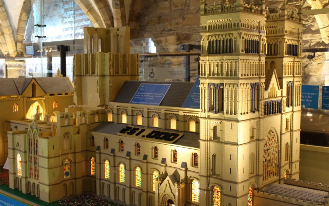 Will you be the one to complete Durham Cathedral's LEGO replica?