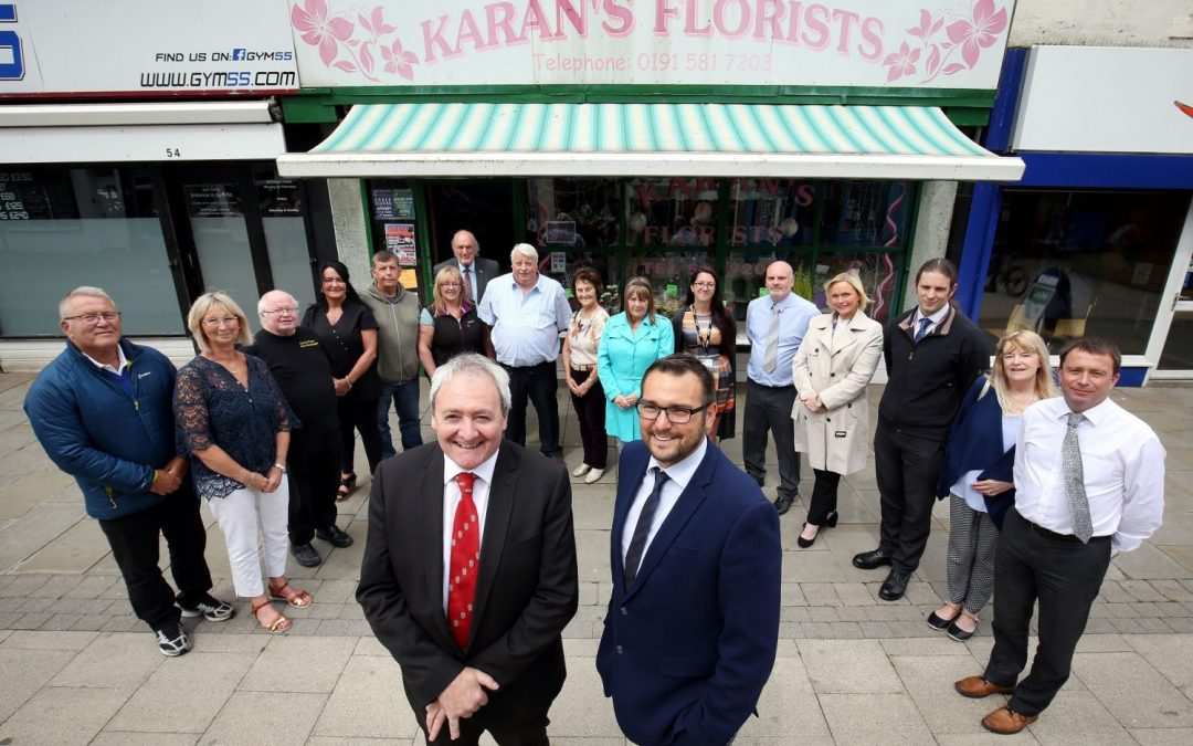 Seaham among four areas to shape report into support given to retail sector