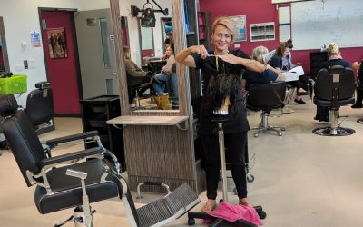 National success for East Durham College barbering students