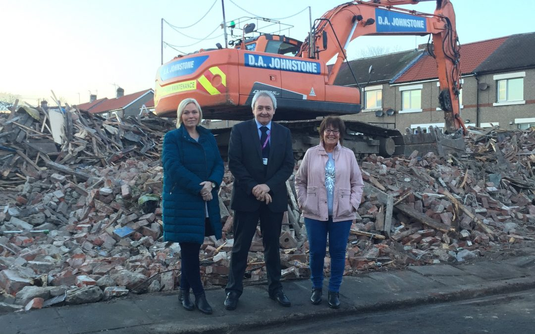 Eyesore pub in Seaham is knocked down