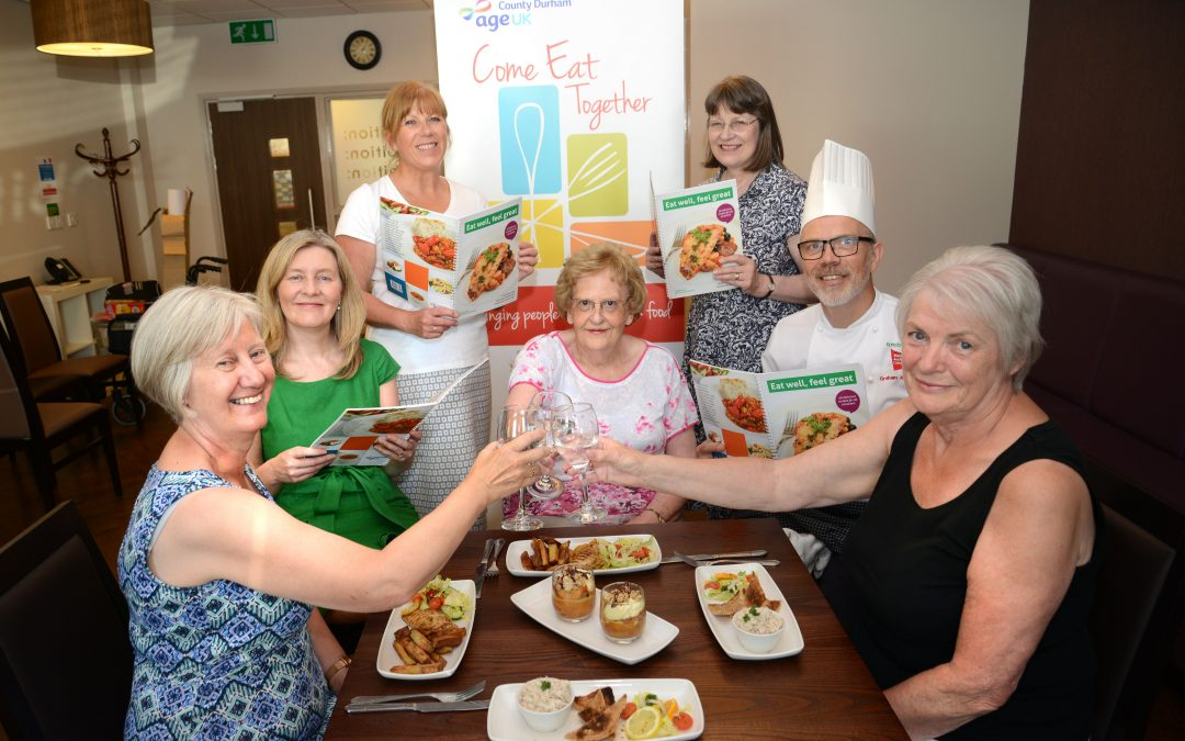 Charity's food book is just the recipe for the elderly and lone residents