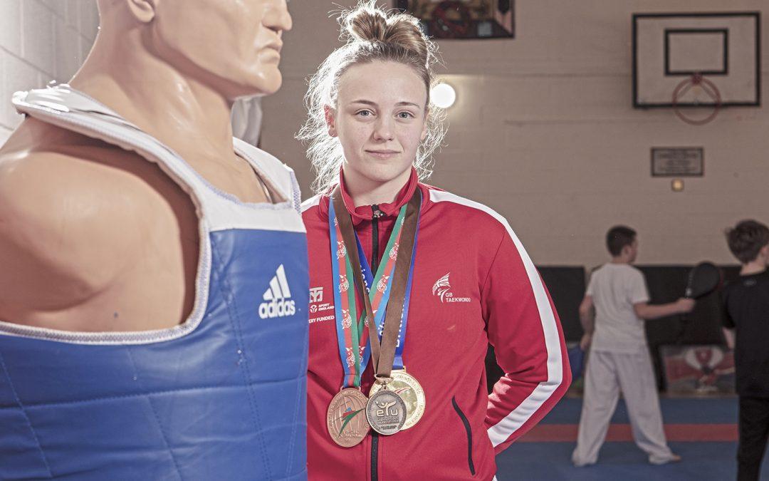 College taekwondo star set for student national championships