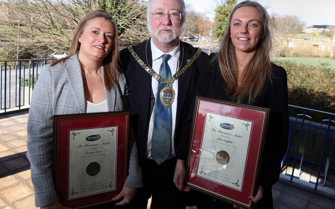 Murton kids club founders honoured for their dedication to the community
