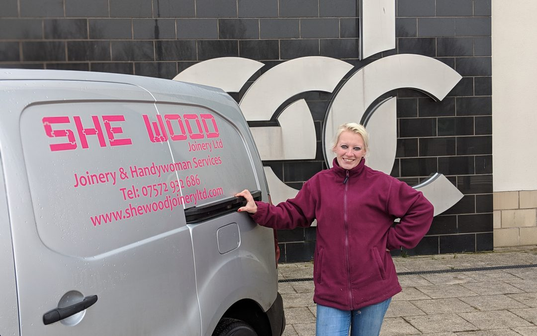 College student constructs path into self employment as she launches her own business
