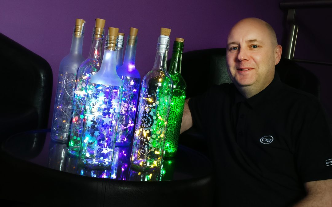 Engineer sees the light as he launches arts and crafts business