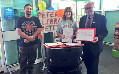 Easington MP backs World Book Day