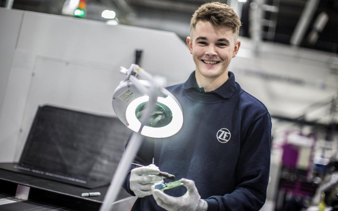 Young people in the driving seat with apprenticeships at ZF