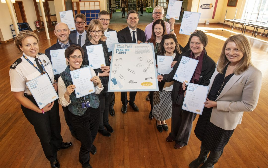 County Durham partners pledge to tackle single use plastics