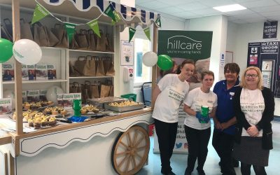 Peterlee care home cake sale raises £120 for cancer charity