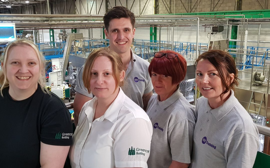 Peterlee training firm further strengthens relationship with UK wine bottler