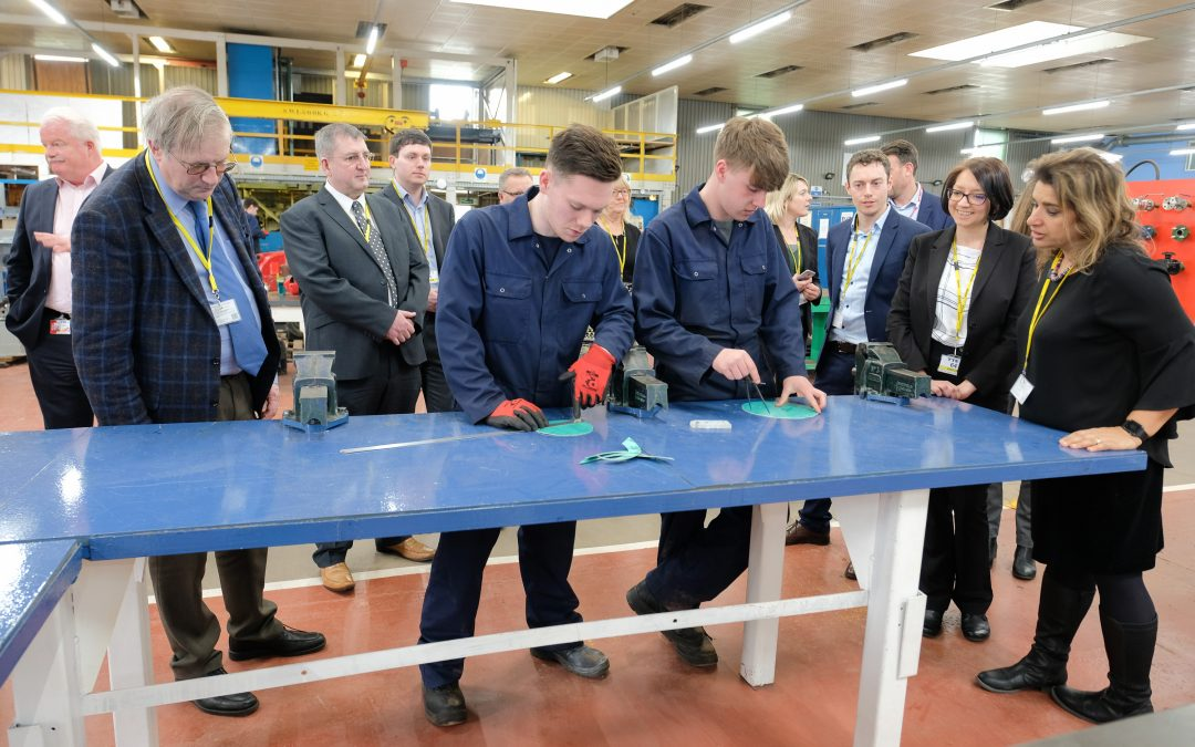 Peterlee training facility supports skills and industry event