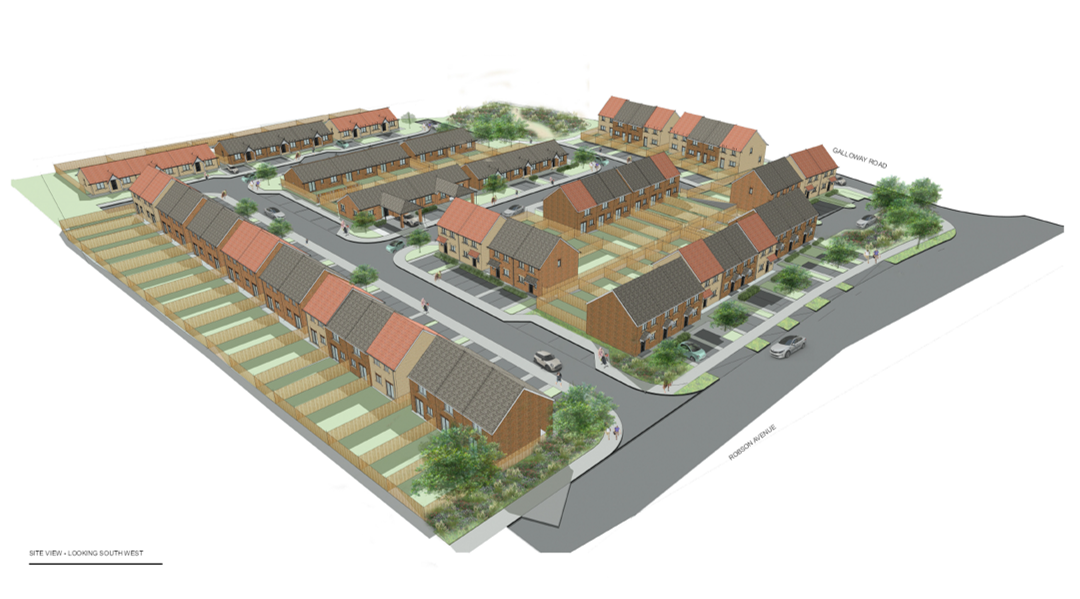 Plans for affordable housing in Peterlee approved