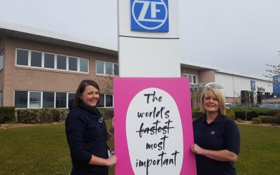 Peterlee's ZF partners with CRUK to support the fight against cancer