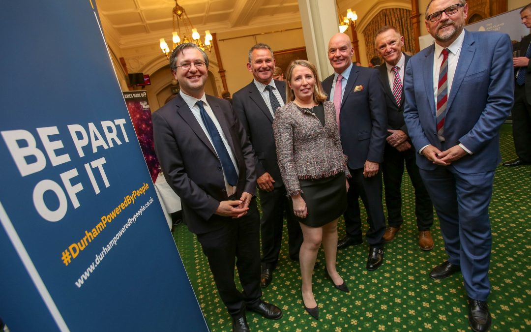 County Durham leaders fly the flag for our area at Westminster