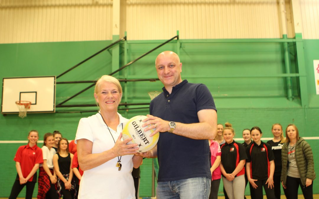 Peterlee Netball Club launches with grant from believe housing
