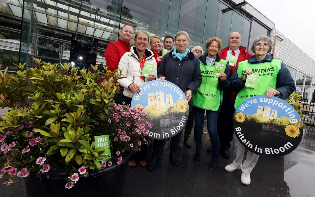 Flower power at Durham City's railway station promotes mental health support