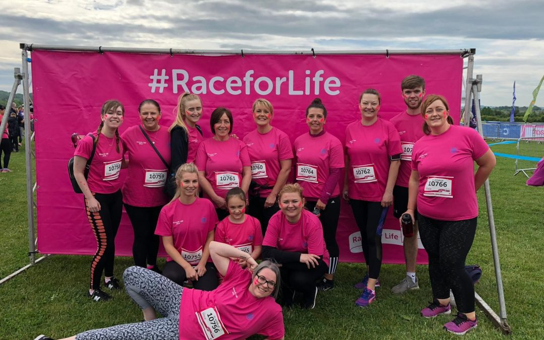 ZF Peterlee raises over £1,000 for Cancer Research UK
